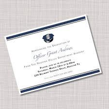 academy graduation party custom academy graduation party invitations
