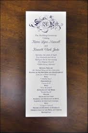 beautiful wedding programs sle wedding program kenya evgplc