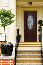 Cherry Decorations For Home Decor Solid Wood Home Depot Entry Doors In Cherry Finish For Home