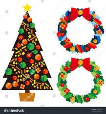 christmas tree lease stock vector 160882193 shutterstock
