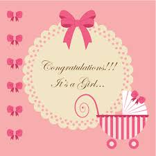baby girl cards baby girl card by neetika agarwal dribbble