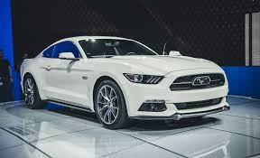 2015 ford mustang 50th anniversary edition photos and info