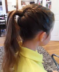 easy ponytail hairstyles for little girls zestymag