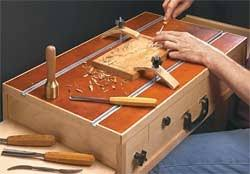 wood briefcase woodworking plans and information at