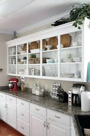 open shelving cabinets kitchen cabinet open shelves farmhouse kitchen by kitchen cabinets