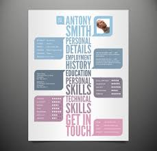 free resume layout templates 25 awesome cv templates and examples 3 25 creative cv templates