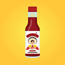 sriracha bottle vector stuff u2014 benwithpen