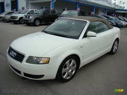 white audi a4 convertible for sale 2006 audi a4 1 8t cabriolet in arctic white 008794 auto jäger