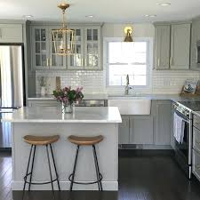 light gray stained kitchen cabinets light grey kitchen cabinets the best choice for your what color