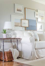 Slipcovers Sofa by Why We Chose A White Slipcovered Sofa A Burst Of Beautiful