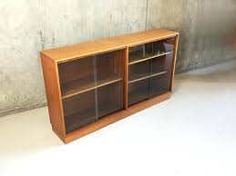 bookcase long low bookcase wood for living room wide wood