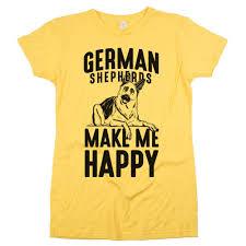 2 g rose australian shepherds german shepherds make me happy u0027 tee gsd dog lover apparel t