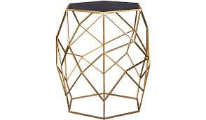 Asda Side Table George Home Glass Top Geometric Side Table Home Garden