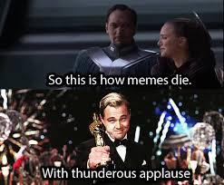 Leo Oscar Meme - leonardo dicaprio s oscar win means a new era of memes