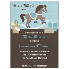 baby boy baby shower invitations rocking boy baby shower invitations paperstyle