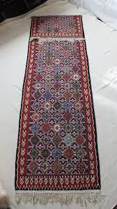 Flat Weave Runner Rugs Vintage Turkish Kilim Flatweave Runner Rug In Ardsley New York