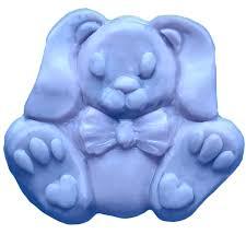 bunny mold way bunny soap mold mw 569 wholesale supplies plus