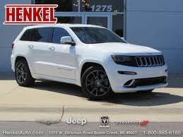 jeep grand 2015 pre owned 2015 jeep grand srt 4x4 suv in springfield