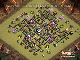 Clash Of Clans Maps Top 5 Th9 Anti 2 Star War Base Town Hall 9 Clash Of Clans