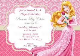 printable thank you cards princess printable sleeping beauty princess aurora birthday party invitation