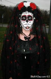 catrina costume october 2010