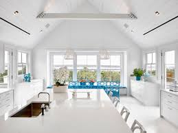 Coastal Kitchens Pinterest by Ghislaine Vinas Interior Design Montauk Kitchen Featuring The