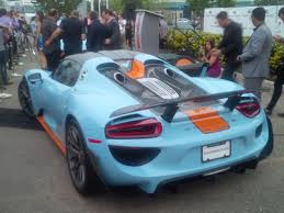 Porsche 918 Blue - pts gulf 918 rennlist porsche discussion forums