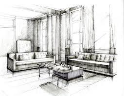 drawing interior design home interior design