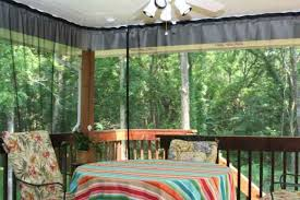 Mosquito Curtains For Porch How To Create Mosquito Netting Curtains For Patio Porch Make