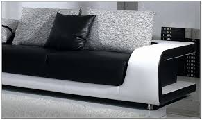 Modern Leather Sofa Black Modern Leather Sofa With Pillows Sofa Home Design Ideas