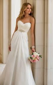 Simple Wedding Dresses Beautiful Simple Country Wedding Dresses Cherry Marry