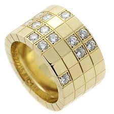 band ring cartier lanieres diamond gold band ring for sale at 1stdibs
