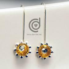 beginner earrings beginner tutorial sunflower earrings dalila caria