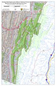 George Washington Bridge Map by West Virginia Dnr Wma Map Project