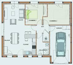 plan de maison plain pied 3 chambres avec garage plan de maison plain pied 3 chambres avec garage plan maison