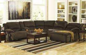 Ashley Furniture Sectional Toletta 6 Pc Power Reclining Sectional Ashley Furniture Orange