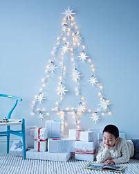 Ideas For Christmas Tree On Wall by Deck Your Walls With These Interesting Christmas Wall Decorations
