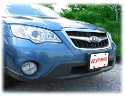 subaru legacy wagon custom front and rear license plate frame bracket assembly to fit 2008