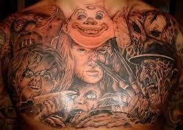 horror tattoo u2013 chest piece tattoo design tattooshunter com
