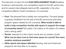 petition started for a better future plex