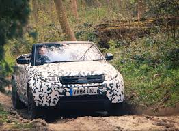 land rover camo range rover evoque convertible 2016 pictures and details by car