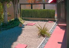 Front Yard Landscaping Ideas No Grass - simple front yard landscaping ideas with stone steps gravels no