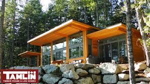 Contemporary Cottage Designs by Contemporary U0026 West Coast Style Custom Homes Tamlin Homes
