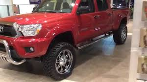 toyota truck lifted 2015 lifted toyota tacoma double cab youtube