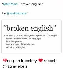 Funny English Memes - 25 best memes about broken english broken english memes