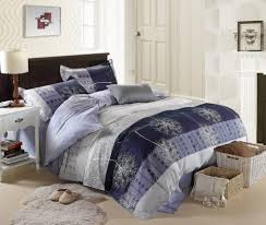 cool shabby chic bedding sets wooden bed frame linen blue