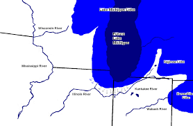 White Lake Michigan Map by Kankakee Torrent