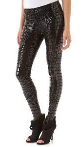 halloween leggings womens aiko duff lacquered leggings shopbop