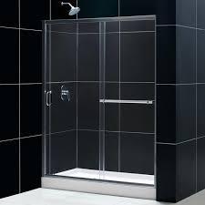 dreamline showers infinity plus sliding tub door glass tub door