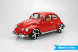 1967 volkswagen classical beetle vw 1 18 scale die cast hobby red
